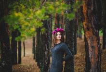 Елена. Осенняя индивидуальная фотосессия