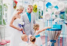 Свадебная прогулка и выездная регистрация. Дима и Наташа.