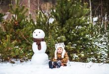 Зимняя семейная фотосессия в Витебске